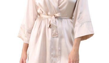 silk robe women